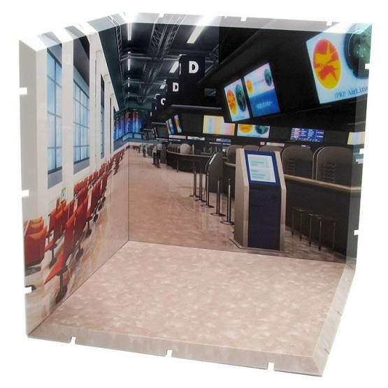 Airport Dioramansion 150 Zubehör-Set für Nendoroid und Figma Actionfiguren von PLM