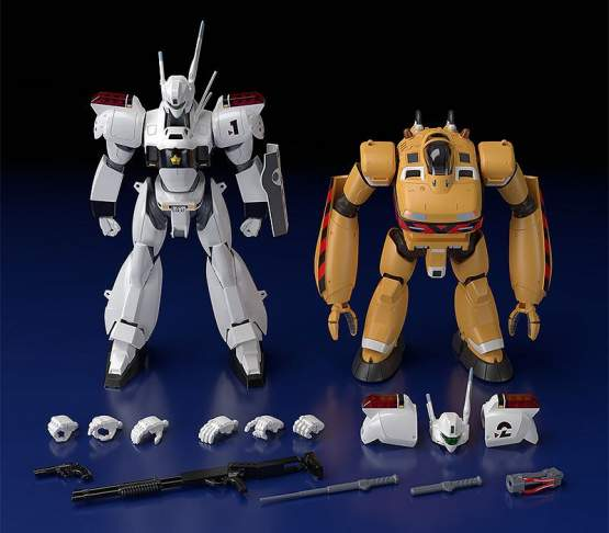 AV-98 Ingram & Bulldog (Mobile Police Patlabor) Moderoid Plastic Model Kit 1/60 10-13cm Good Smile Company