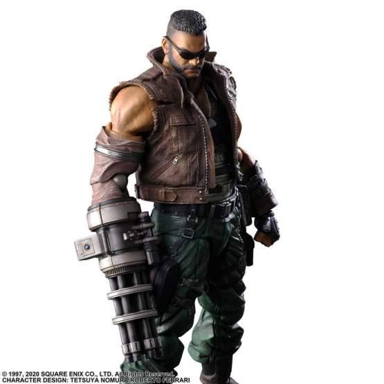 Barret Walace Version 2 (Final Fantasy 7 Remake) Play Arts Kai Actionfigur 28cm Square Enix