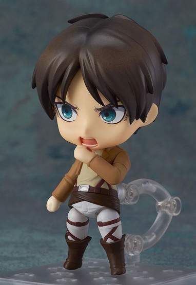 Eren Yeager (Attack on Titan) Nendoroid 375 Actionfigur 10cm Good Smile Company -NEUAUFLAGE-