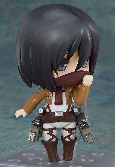 Mikasa Ackerman (Attack on Titan) Nendoroid 365 Actionfigur 10cm Good Smile Company -NEUAUFLAGE-