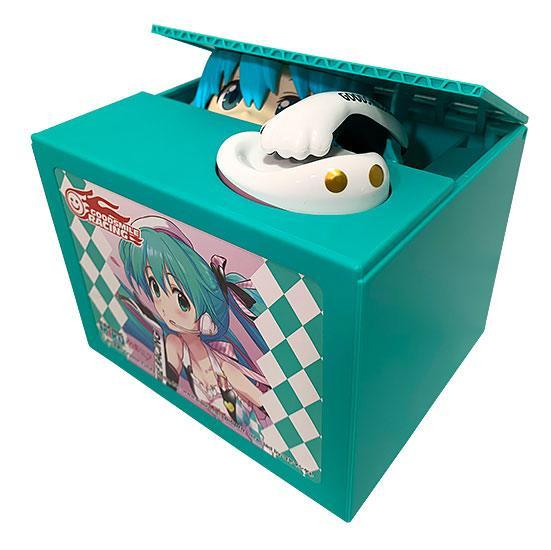 Racing Miku 2019 Version Chatting Bank 001 (Hatsune Miku GT Project) Spardose mit Sound 12cm Shine