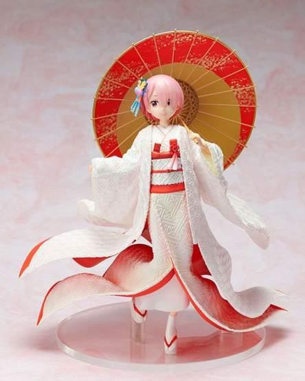 Ram Shiromuku (Re:ZERO Starting Life in Another World) PVC-Statue 1/7 24cm FuRyu