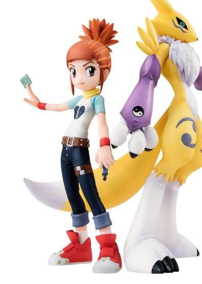 Renamon & Rika (Digimon Tamers) G.E.M. PVC-Statue 14cm Megahouse