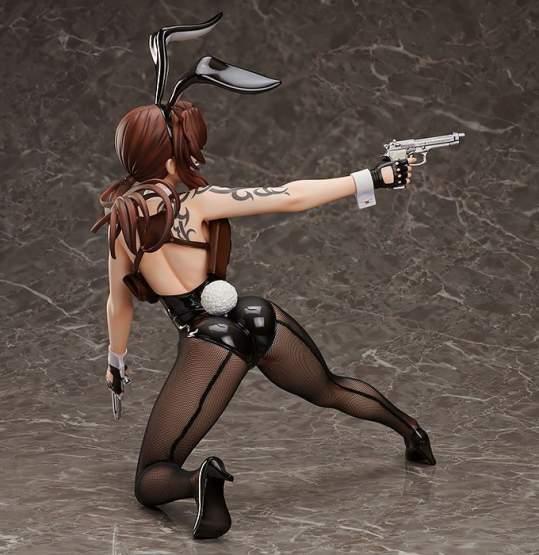Revy Bunny Version (Black Lagoon) PVC-Statue 1/4 34cm FREEing