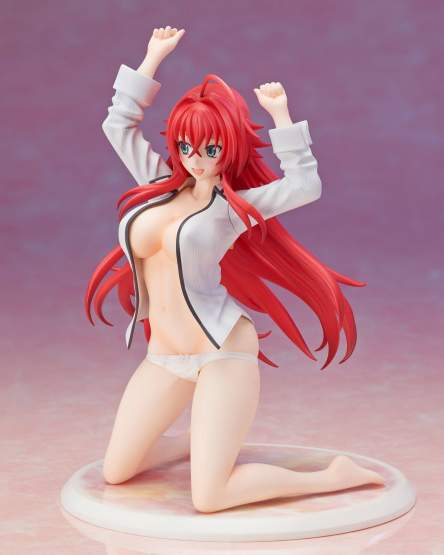 Rias Gremory Kuoh Dress Shirt Version (High School DxD BorN) PVC-Statue 1/10 12cm Proovy