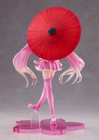 Sakura Miku 2nd Season New Written Japanese Umbrella Version (Vocaloid) PVC-Statue 20cm Taito Prize