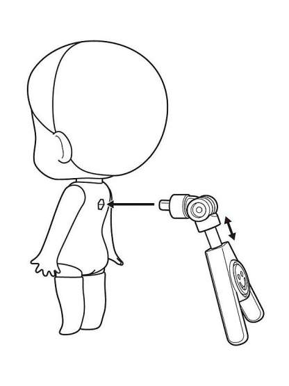 The Easel Stand Figurenständer für Nendoroid Figuren 3er-Pack von Good Smile Company
