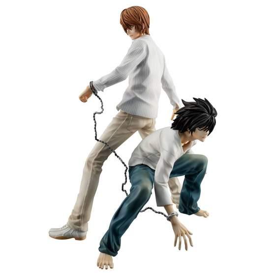 Yagami Light & L (Death Note) G.E.M. PVC-Statue 24cm Megahouse