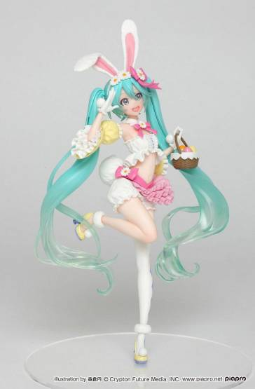 Hatsune Miku 2nd Season Spring Version Game Prize (Vocaloid) PVC-Statue 18cm Taito Prize