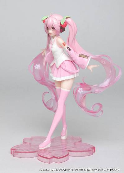 Hatsune Miku Sakura Miku (Vocaloid) PVC-Statue 18cm Taito Prize
