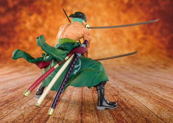 Piratenjäger Zorro (One Piece) FiguartsZERO PVC-Statue 11cm Bandai Tamashii Nations