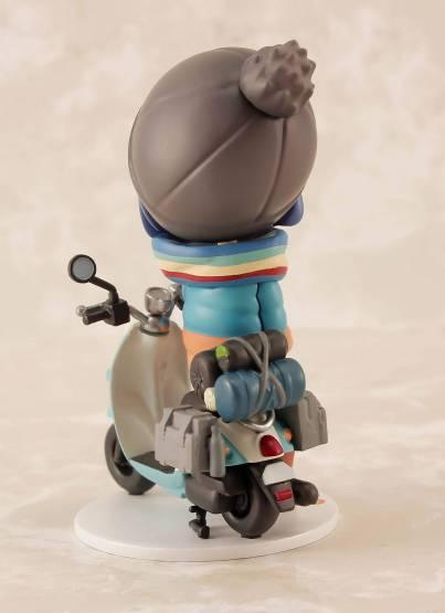 Rin Shima (Laid-Back Camp) PVC-Statue 7cm PLUM