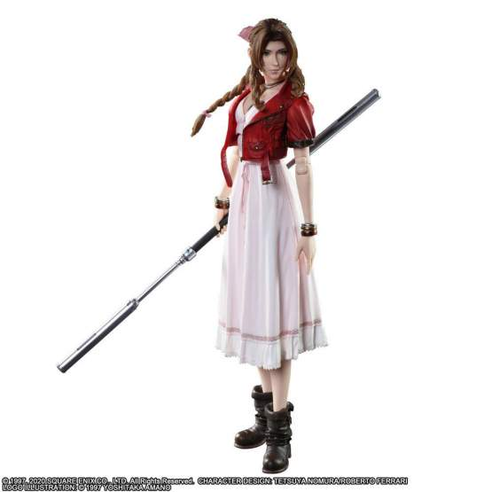 Aerith Gainsborough (Final Fantasy 7 Remake) Play Arts Kai Actionfigur 25cm Square Enix