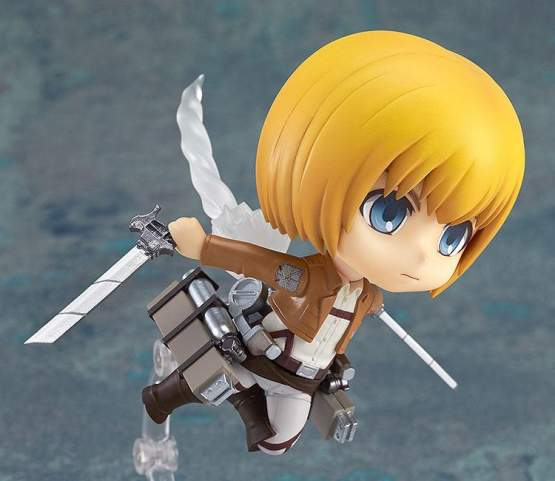 Armin Arlert (Attack on Titan) Nendoroid 435 Actionfigur 10cm Good Smile Company -NEUAUFLAGE-