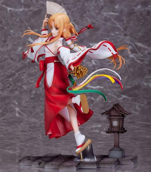 Asuna Miko Version (Sword Art Online Alicization War of Underworld) PVC-Statue 1/7 23cm Souyokusha