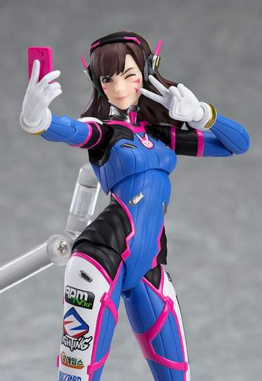 D.Va (Overwatch) Figma 408 Actionfigur 14cm Good Smile Company