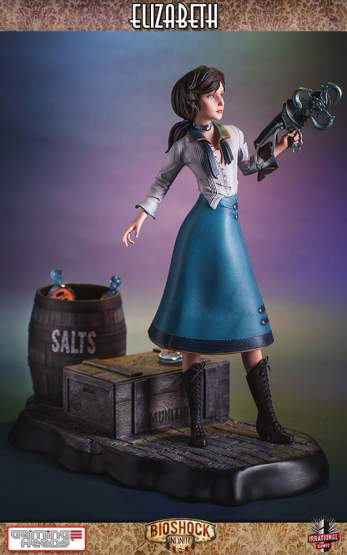 Elizabeth (BioShock Infinite) Resin-Statue 46cm Gaming Heads
