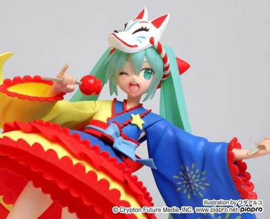 Hatsune Miku 2nd Season Summer Version (Vocaloid) PVC-Statue 18cm Taito Prize