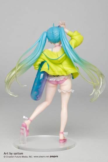 Hatsune Miku 3rd Season Summer Version (Vocaloid) PVC-Statue 18cm Taito Prize