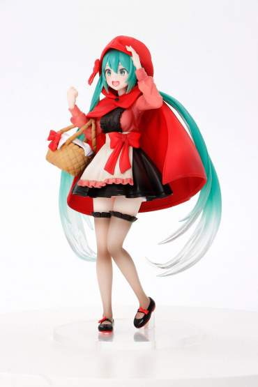 Hatsune Miku Little Red Riding Hood Version (Vocaloid) PVC-Statue 18cm Taito Prize