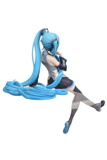 Hatsune Miku Noodle Stopper (Vocaloid) Game Prize PVC-Statue 14cm FuRyu