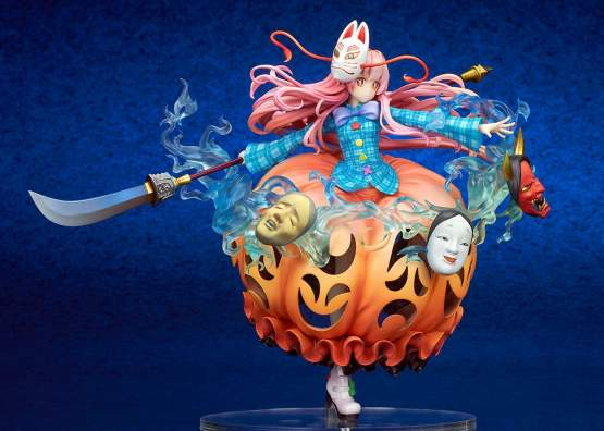 Kokoro Hatano The Expressive Poker Face Version (Touhou Project) PVC-Statue 1/8 21cm Ques Q