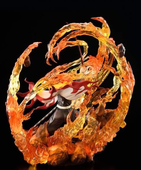 Kyojuro Rengoku DX Version (Demon Slayer: Kimetsu no Yaiba) PVC-Statue 1/8 35cm Bellfine