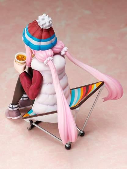 Nadeshiko Kagamihara Premium Noodle Stopper (Laid-Back Camp) PVC-Statue 1/8 13cm FuRyu