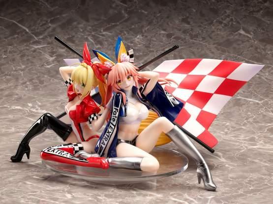Nero Claudius & Tamamo No Mae TYPE-MOON Racing Version (Fate/Extra) PVC-Statue 1/7 17cm Stronger