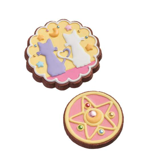 Pretty Soldier Charm Patisserie Cookie Charm Limited Edition (Sailor Moon) Anhänger 12er Set - Megahouse
