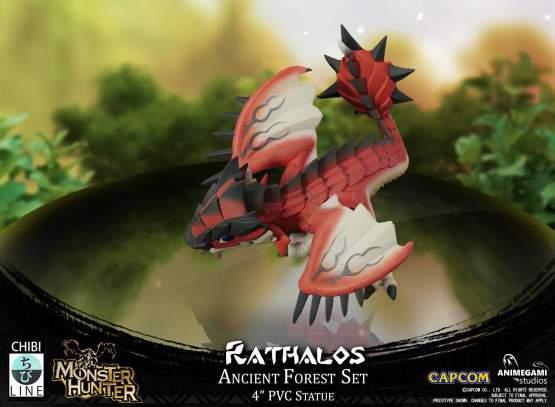 Rathalos (Monster Hunter) PVC-Statue 10cm Animegami Studios