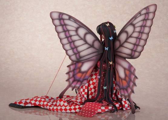Red Butterfly Illustration by Jin Happobi (Original Character Hoteri) PVC-Statue 16cm Flare