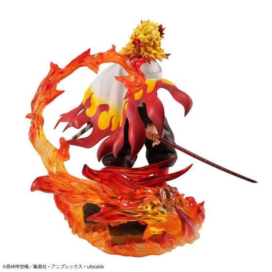 Rengoku Kyojuro (Demon Slayer Kimetsu no Yaiba) G.E.M. PVC-Statue 21cm Megahouse