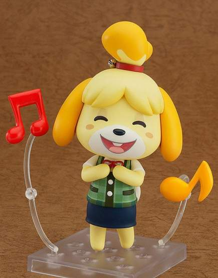 Shizue Isabelle (Animal Crossing New Leaf) Nendoroid 327 Actionfigur 10cm Good Smile Company -NEUAUFLAGE-