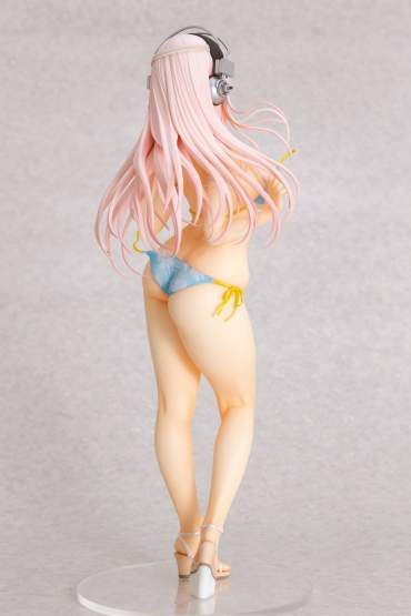 Super Sonico Summer Vacation Version (Super Sonico) PVC-Statue 1/4.5 35cm Orchid Seed