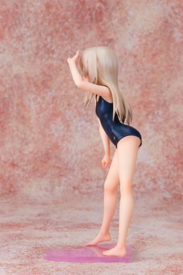 Illyasviel School Swimsuit Version (Fate/kaleid liner Prisma Illya 2Wei Herz!) PVC-Statue 1/7 20cm Fots Japan