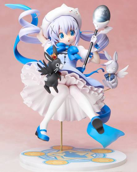 Mahou Shoujo Chino (Is the Order a Rabbit) PVC-Statue 1/7 21cm Stronger