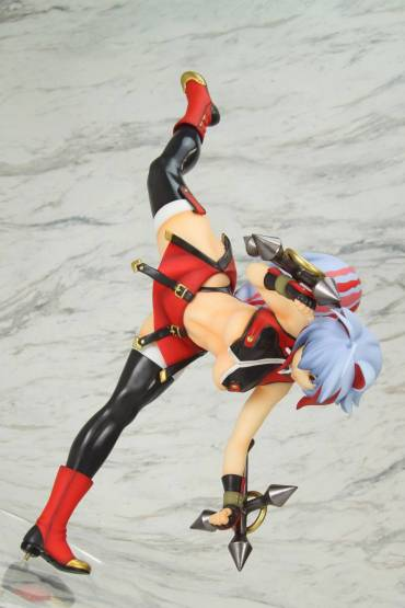 Makoto Nanaya 08color Version (BlazBlue Central Fiction) PVC-Statue 1/7 24cm Bellfine