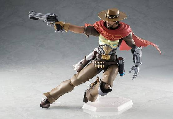 McCree (Overwatch) Figma 438 Actionfigur 16cm Good Smile Company