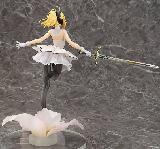 Saber/Altria Pendragon Lily (Fate/Grand Order) PVC-Statue 1/7 28cm Aqua Marine