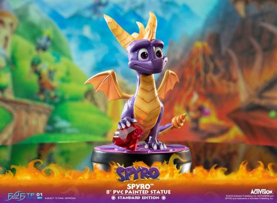 Spyro (Spyro the Dragon) PVC-Statue 20cm First 4 Figures