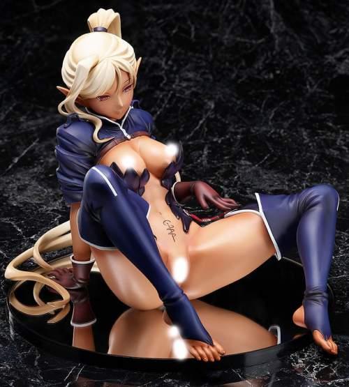 Chloe (Kuroinu: Kedakaki Seijo Wa Hakudaku Ni Somaru) PVC-Statue 1/4 21cm BINDing