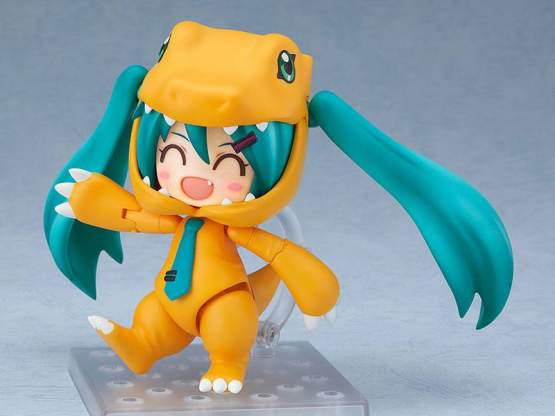 Hatsune Miku Kigurumi Agumon Version (Character Vocal Series 01) Nendoroid 1439 Actionfigur 10cm Good Smile Company