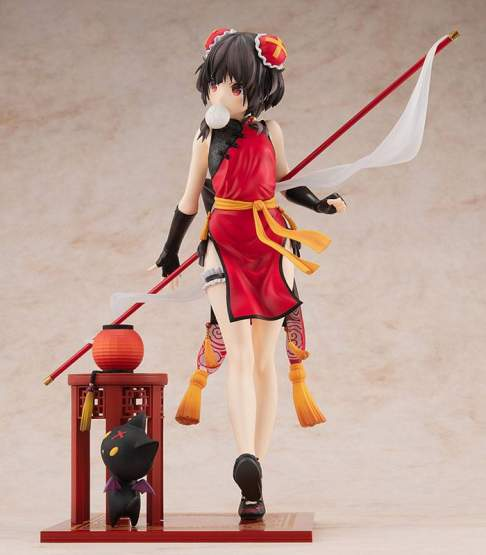 Megumin Light Novel China Dress Version (Kono Subarashii Sekai ni Shukufuku wo!) PVC-Statue 1/7 22cm Kadokawa