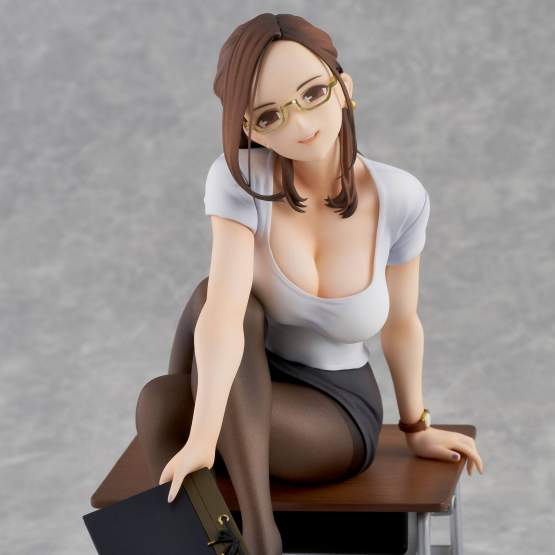 Miru Tights Okuzumi Yuiko Sensei LTD Edition (Original Character) PVC-Statue 20cm Union Creative