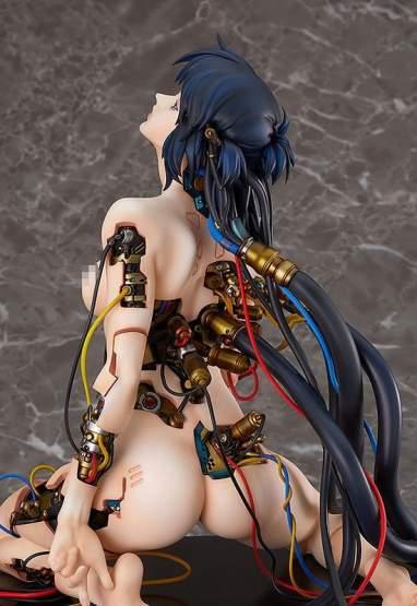 Motoko Kusanagi (Ghost in the Shell) Resin/PVC-Statue 1/4 27cm Bandai Namco