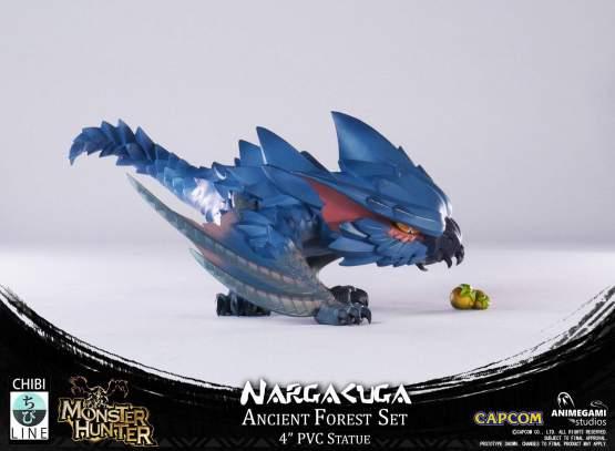 Nargacuga (Monster Hunter) PVC-Statue 10cm Animegami Studios