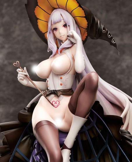 October 31st Witch Miss Orangette by Iida Pochi (Original Character) PVC-Statue 1/6 27cm Native