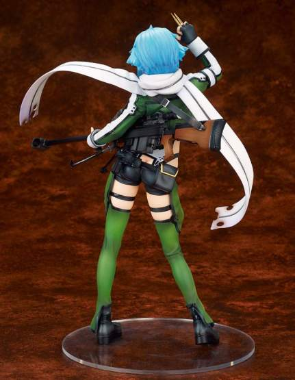 Sinon Ordinal Scale (Sword Art Online The Movie Ordinal Scale) PVC-Statue 1/7 25cm Alter -NEUAUFLAGE-